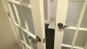 Install Basement Door by How To Install Double French Doors 5 Steps With Pictures