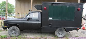 postal vehicles 1984 chevrolet d30 military postal vehicle item k7827 so