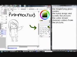 easy paint tool sai tutorial tools youtube