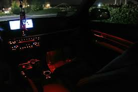 bmw f10 ambient lighting ambient lighting in black interior photos