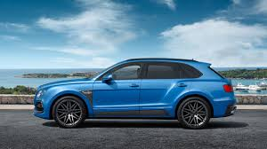 baby blue bentley startech comes out with an upgrade for the bentley bentayga fit