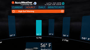 accuweather android app accuweather has released a gear vr app because why not