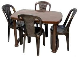 nilkamal kitchen furniture nilkamal mega dining table with chair costking in