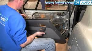 1998 Toyota Corolla Interior Door Handle How To Install Replace Rear Inside Door Handle Toyota Camry 92 96