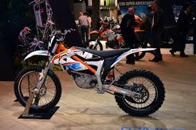 ktm electric motocross bike dirt bike magazine eichma show milan italy