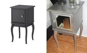 lack side table night table ikea hacker silver nightstand loccie