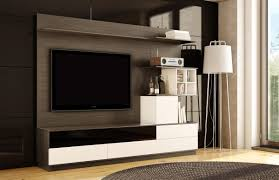 Bedroom Furniture With Hidden Tv Home Accecories Bedrooms Varnished Wood Wall Hidden Bed With