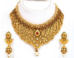 gold necklace jewellery images Gold jewellery designs catalogue gold necklace design catalogue i jpg