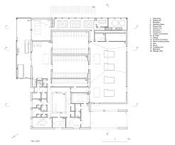 Floor Plan Of The Office Gallery Of The New Crematorium The Woodland Cemetery Johan