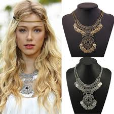 double necklace style images 2017 new fashion bohemian style jewelry for women double chain jpg