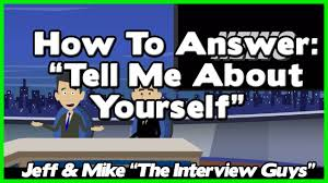 tell me about yourself essay sample tell me about yourself good answer relies on avoiding this 1 tell me about yourself good answer relies on avoiding this 1 job interview trap youtube