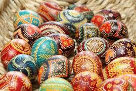 fancy easter eggs easter eggs with traditional sorbian motifs are pictured on the
