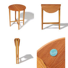 Folding Side Table Ta Bl Oak Folding Side Table Crowdyhouse