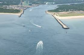 cape cod canal north inlet in scusset beach ma united states