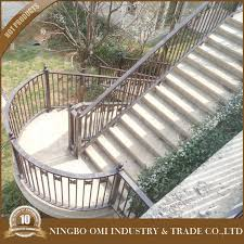 curved wrought iron stair railings curved wrought iron stair