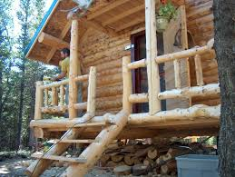 cabin porch building a log cabin in alaska the porch and cabinets