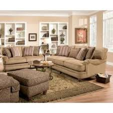 Tan Sofa Set by Furniture Of America Senous 2 Piece Traditional Scrolled Sofa Set