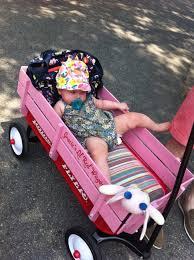 wagon baby custom wagon margaret s birthday baby staff