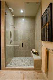 Walk In Shower With Bench Seat Irreplaceable Shower Seats Design Ideas