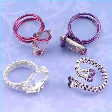 metal wire rings images Making a wire ring inspiration wire wrapped rings jpg