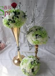 Cheap Vase Centerpieces Online Get Cheap Tall Gold Vases Wedding Centerpieces Aliexpress