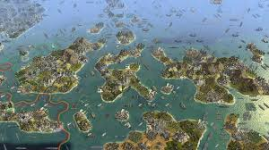 Thedas Map What A 61 Player Civilization V Map Looks Like Without The Ui