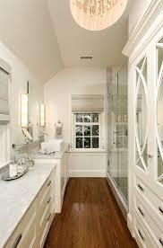 Glam Long  Narrow Bathroom Love The Kraftmaid Kitchen Cabinets - Long kitchen cabinets