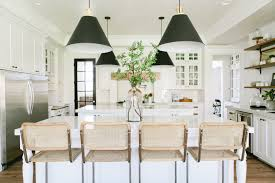 kitchen style all white kitchen cabinet glass doors subway tile