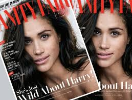 Vanity Skin On Skin Meghan Markle Vanity Fair October 2017 Thefashionspot