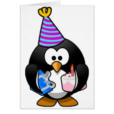 penguin cards greeting photo cards zazzle
