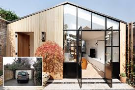 family and home incredible transformation of run down garage into stunning 450 000