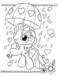 coloring pages free printable my little pony coloring pages for