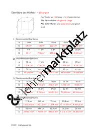 oberfläche eines würfels geometrische grundbegriffe klasse 5 6 würfel und quader mathematik