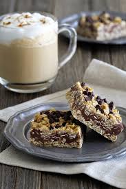 Oatmeal Bars With Chocolate Topping No Bake Chocolate Peanut Butter Oatmeal Bars Popsugar Food