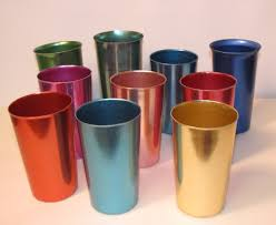 tin tumblers loved these cold drinks were colder served in these