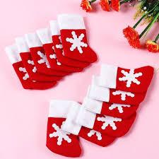 12 pieces lot mini christmas stockings christmas decoration