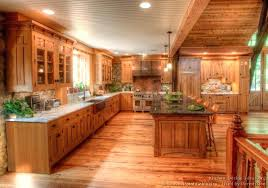 rustic log cabin kitchen cabinets cabinet doors style ideas