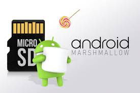 android to sd card sd card switching from android lollipop to android marshmallow