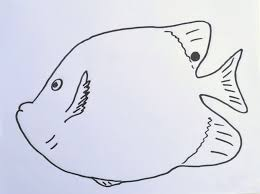 fish template art class ideas