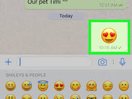 enlarge emoji on whatsapp 7 steps with pictures