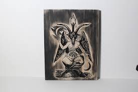 baphomet carving eliphas levi satanism satanic occult zoom