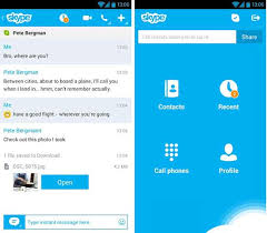 skype android app top 8 voip and chat apps for android
