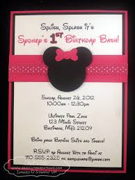 template elegant minnie mouse bowtique birthday party