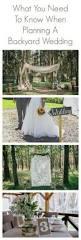 Outdoor Backyard Wedding Ideas 1217 Best Backyard Style Wedding Images On Pinterest Backyard