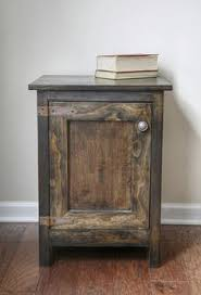 2x4 end tables made from scrap left over pieces boards are