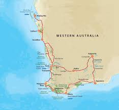 Australian Outback Map Western Wildflowers Tour Outback Spirit Tours