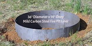 Fire Pit Liner by Coolest 21 Fire Pit Liners