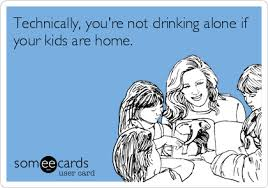 Drinking Problem Meme - fourteen memes about motherhood and wine and some musing about why