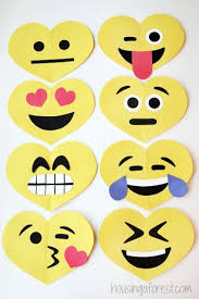 Make Valentines Card - 17 valentine u0027s day crafts for kids emoji simple kids crafts and