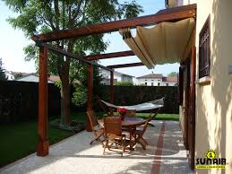 Pergola Roof Cover by Retractable Pergola Awning Best Quality Design Red Cherry